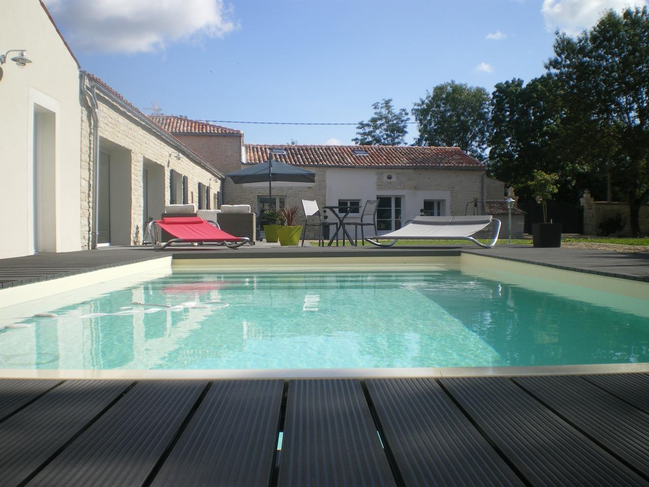 Chambre d 39 h tes la fompatoise avec sa piscine chauff e - Chambre d hote piscine bretagne ...