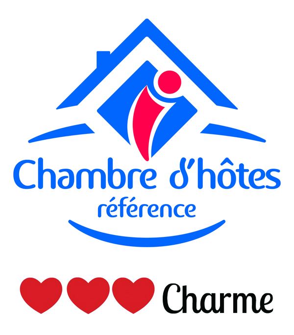 Logo 3 coeurs charme
