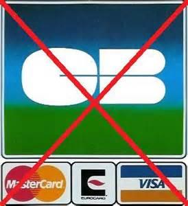 Carte bleue non acceptee