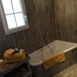 salle de bain de la chambre mezza