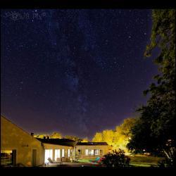 Une nuit étoilée à la Fompatoise